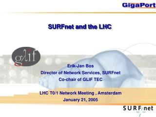 SURFnet and the LHC