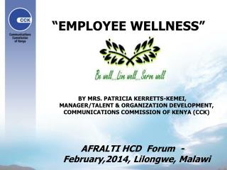 �EMPLOYEE WELLNESS�