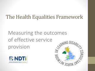 The Health Equalities Framework