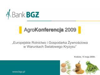 Krak�w, 15 maja 2009r.