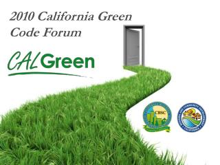 2010 California Green Code Forum