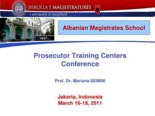 Albanian Magistrates School