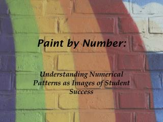 Paint by Number: