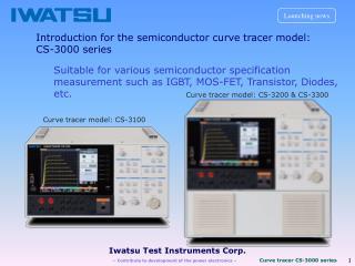 Iwatsu Test Instruments Corp.