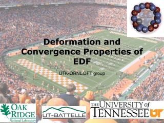Deformation and Convergence Properties of EDF