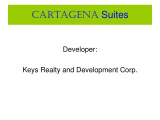 Cartagena Suites