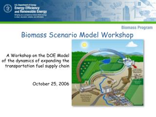 A Workshop on the DOE Model of the dynamics of expanding the transportation fuel supply chain