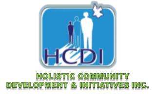 HOLISTIC COMMUNITY DEVELOPMENT & INITIATIVES INC.