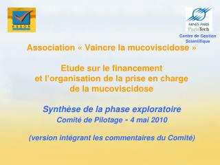 Centre de Gestion Scientifique