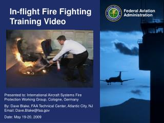 In-flight Fire Fighting Training Video