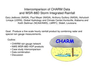 Intercomparison of CHARM Data and WSR-88D Storm Integrated Rainfall