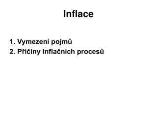 Inflace