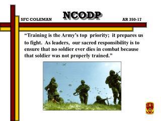 NCODP