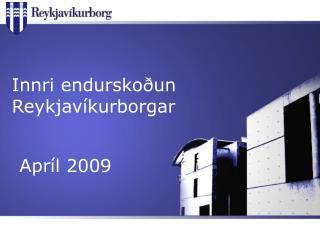 Innri endurskoðun Reykjavíkurborgar