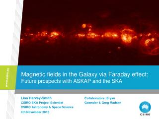 Magnetic fields in the Galaxy via Faraday effect:  Future prospects with ASKAP and the SKA