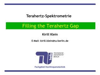 Terahertz-Spektrometrie