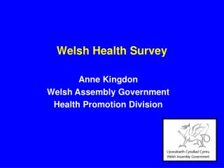 Welsh Health Survey