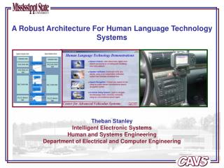 Theban Stanley Intelligent Electronic Systems Human and Systems Engineering