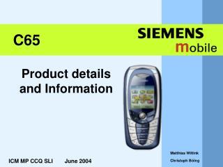 ICM MP CCQ SLI      June 2004