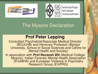 The Mysore Declaration
