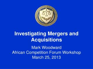 Investigating Mergers and Acquisitions