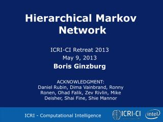 Hierarchical Markov  Network