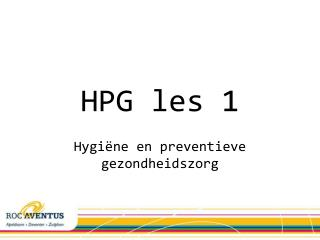 HPG les 1