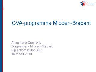 CVA-programma Midden-Brabant