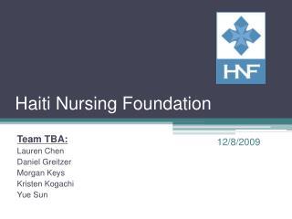 Haiti Nursing Foundation