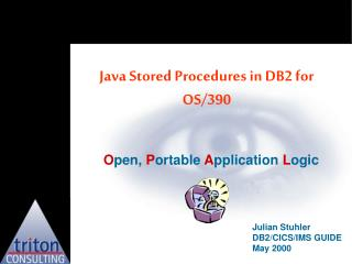 Java Stored Procedures in DB2 for OS/390