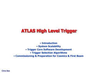 ATLAS High Level Trigger