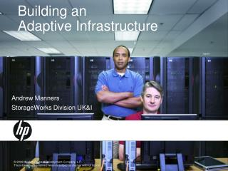 Building an Adaptive Infrastructure