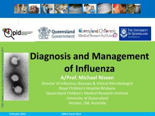 Diagnosis and Management of Influenza