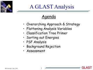 A GLAST Analysis