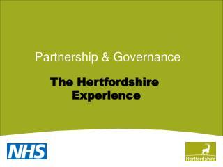 Partnership & Governance