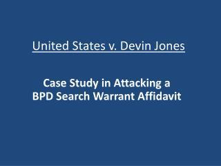 United States v. Devin Jones