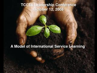 A Model of International Service Learning