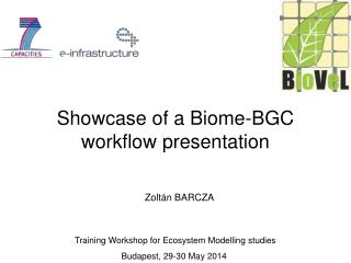 Showcase of a Biome-BGC workflow presentation
