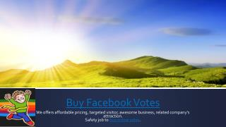 Buy Facebook contest votes- votesguru.com