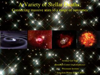 A Variety of Stellar Deaths: Connecting massive stars to a range of outcomes