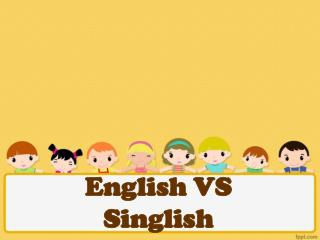 English VS Singlish