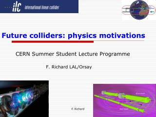 Future colliders: physics motivations