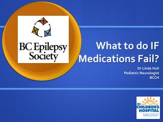 What to do IF Medications Fail?