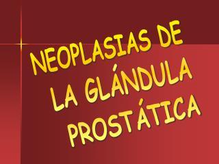 NEOPLASIAS DE