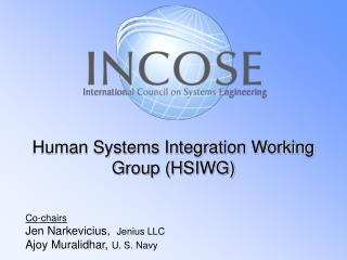 Human Systems Integration Working Group (HSIWG)