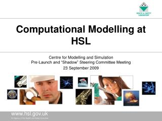 Computational Modelling at HSL