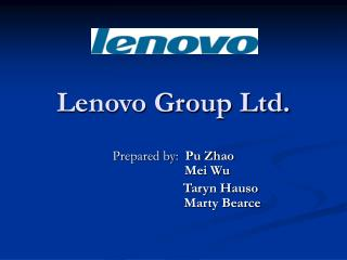 Lenovo Group Ltd.