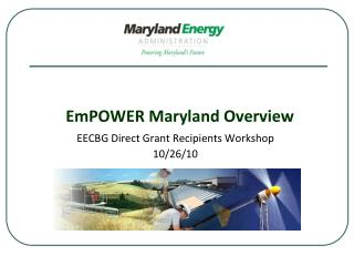 EmPOWER Maryland Overview
