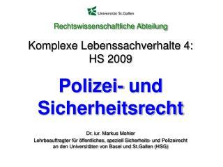 Dr. iur. Markus Mohler