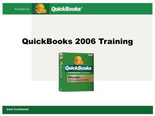 QuickBooks 2006 Training